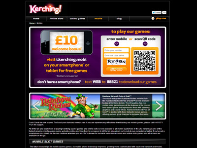 Kerching Mobile Casino